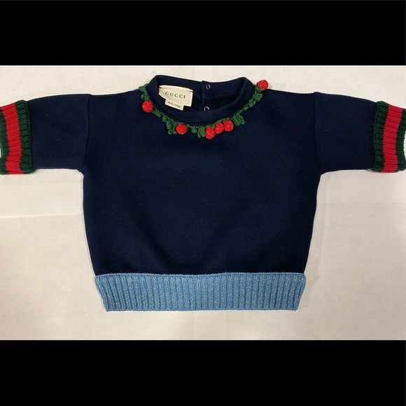 Authentic Gucci Baby Girl Sweater